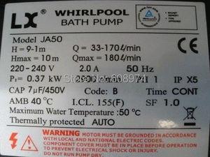 Image 3 - SPA Pool Pump Whirlpool LX JA50 Hot Tub Hydra Massage Bathtub Circulation fit SPA NET XS 3C Australia new zealand Disscount