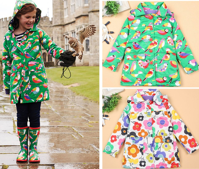 Winter thickening wadded jacket 2016 clothing winter outerwear female child baby trench medium-long child overcoat cotton-padded