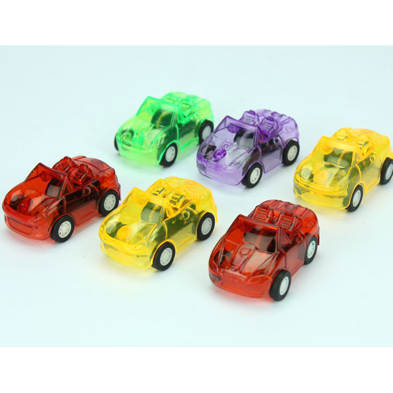 Party Favor Toys : Pcs pull back racer running mini car kids birthday party