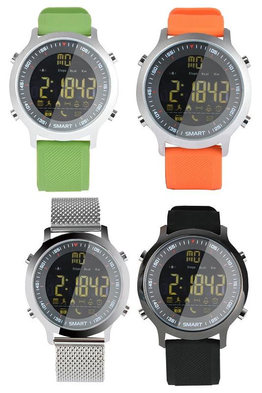 Водонепроницаемый наручные часы smart Поддержка вызова и SMS оповещение спортивных мероприятий трекер <font><b>Bluetooth</b></font> наручные ex18