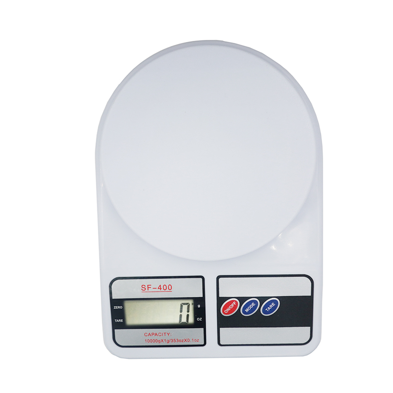by dhl/fedex 10pcs/lot  New Arrival SF400 10kg/1g Portable House Kitchen Digital Scale Balance Weight Gram-in Weighing Scales from Tools    1