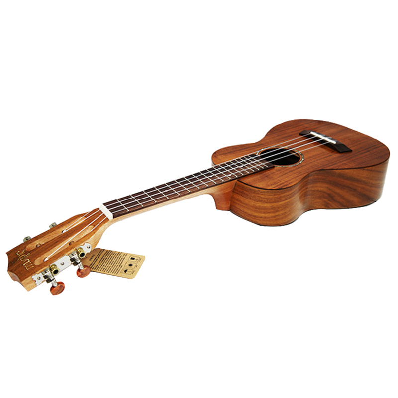 Professional Ukulele 26 tenor 4 strings Hawaiian Mini Guitar Only Top for solid Acacia KOA Wood Electric Ukelele with Pickup EQ