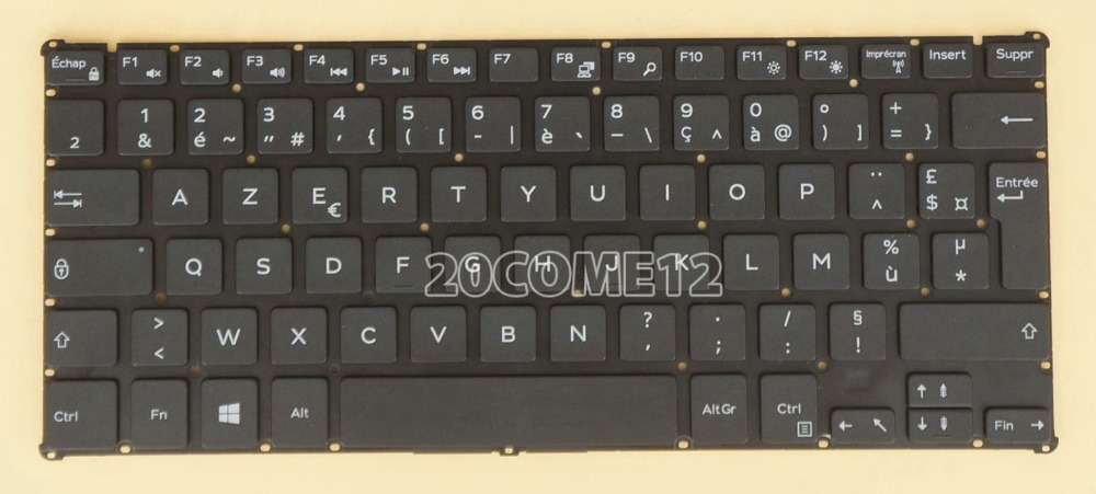 New notebook Laptop keyboard for DELL Inspiron 11 3162 3164  French Layout new notebook laptop keyboard for dell inspiron mini 1012 1018 08000y french layout