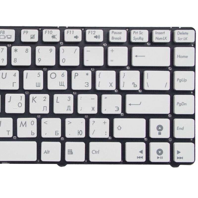 NExpert Orig deutsche QWERTZ Tastatur f/ür Asus U36J U36JC U36S U36SD U36SG U36 Serie DE wei/ß ohne Rahmen Neu