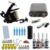 High Quality Machine 5 Needles Power Supply Gun Set Exquisite Workmanship Complete Tattoo Kit Equipment With