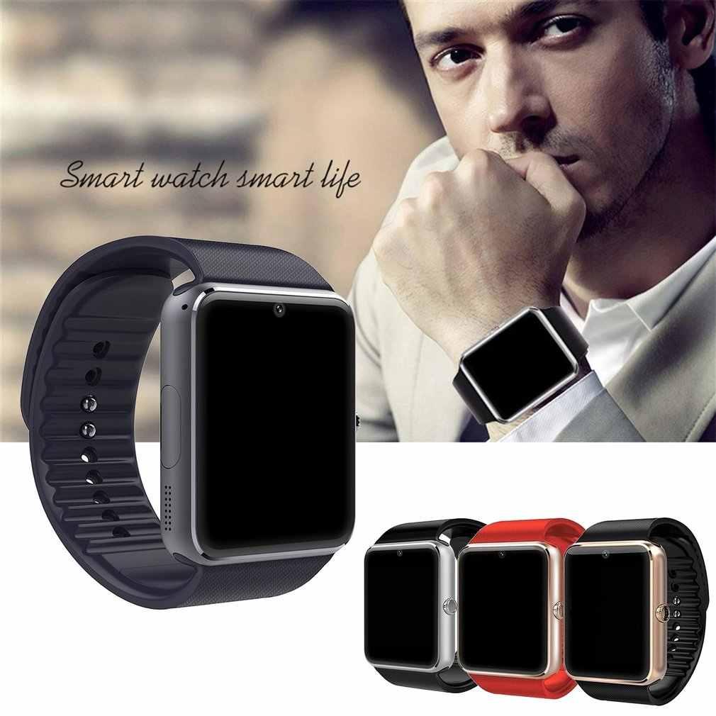 GT08 Смарт часы для телефона Andriod с камерой поддержка SIM TF карты браслет носимое устройство Спортивные Bluetooth мужские Рождественский подарок