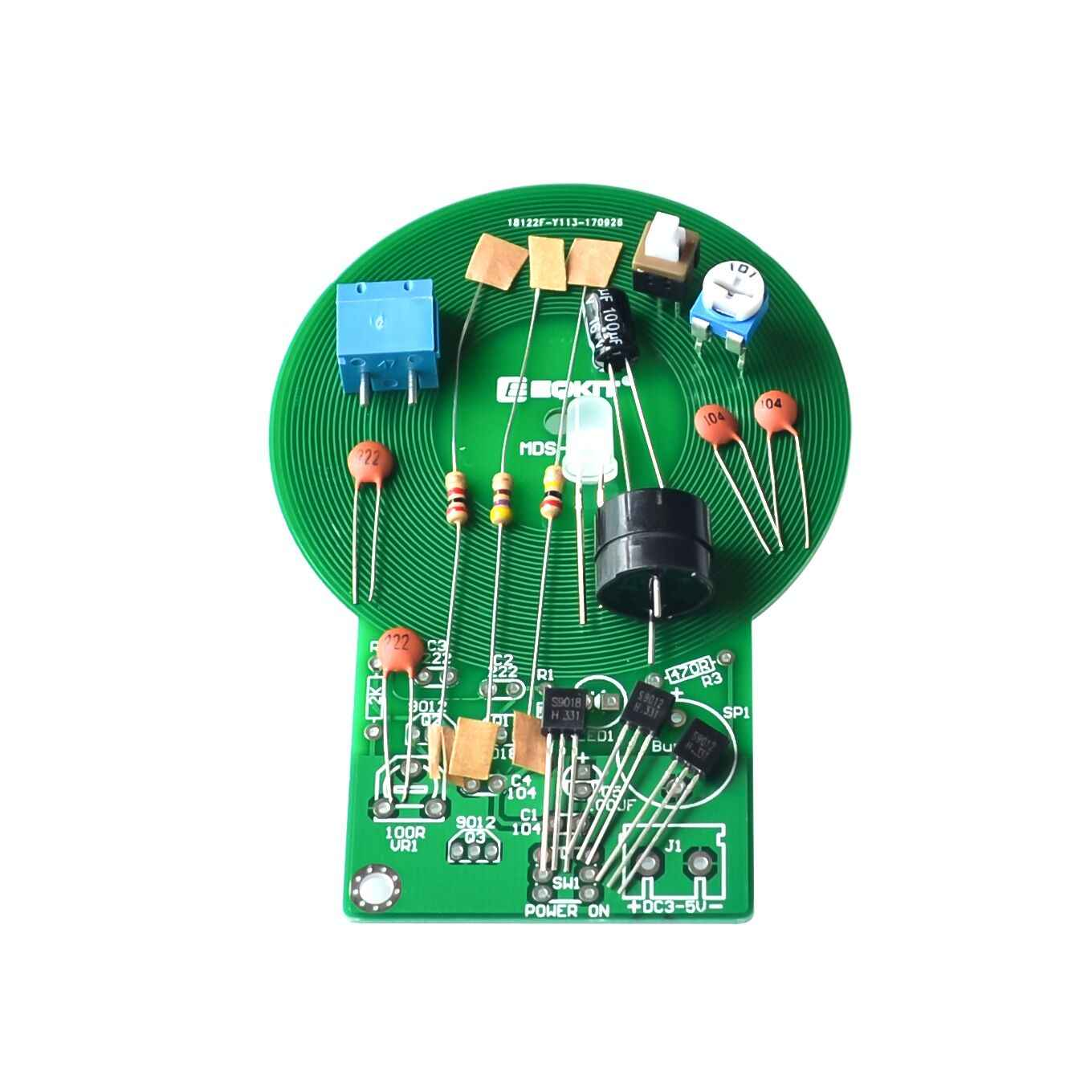 Detail Feedback Questions About Diy Kit Metal Detector Circuit Electronic Dc 3v 5v 60mm Non Contact Sensor