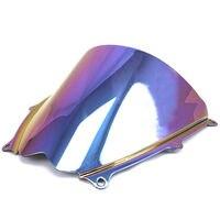 Double Bubble Windshield Windscreen for Suzuki GSXR1000 GSXR 1000 K7 2007 2008