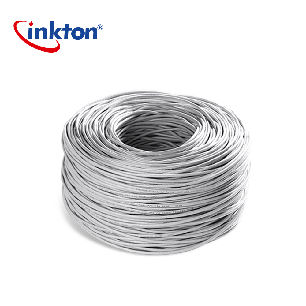 inkton ethernet cable cat5e utp oxyen free copper twisted pair wire for home network engineering lan cable 305m 100 pure copper [ 1000 x 1000 Pixel ]
