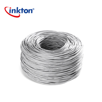 Inkton Ethernet Cable Cat5e UTP Oxyen Free Copper Twisted Pair Wire For Home Network Engineering Lan Cable 305m 100% Pure Copper|  -