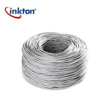 Inkton кабель Ethernet Cat5e UTP Oxyen Бесплатная Медь витая пара для домашней сети Engineering сетевой кабель 305 м 100% чистый Медь