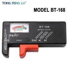 Универсальный цифровой тестер батареи Электронная батарея Вольт проверки для AA AAA 9 В кнопочный элемент мульти размер Напряжение измеритель мощности