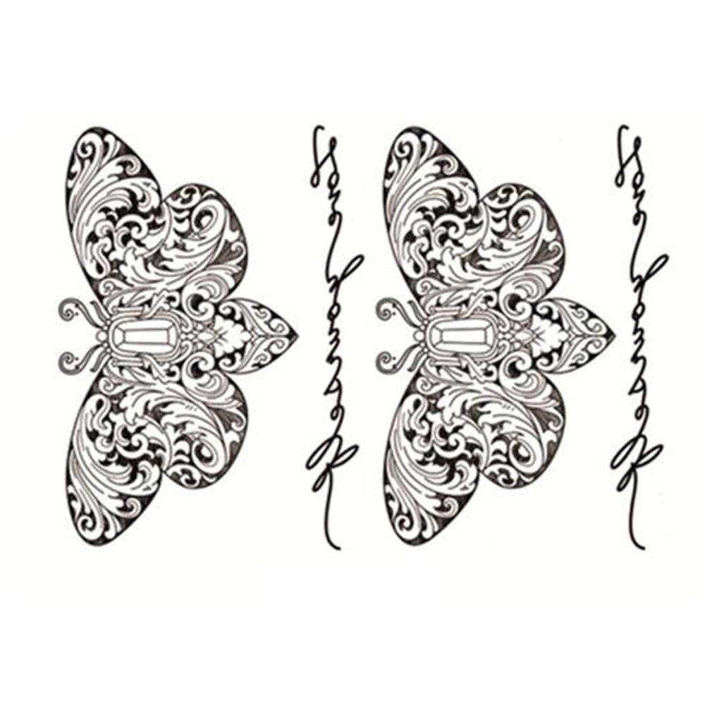 Yeeech Temporal Tatuajes Pegatina Para Las Mujeres Falso Sexy