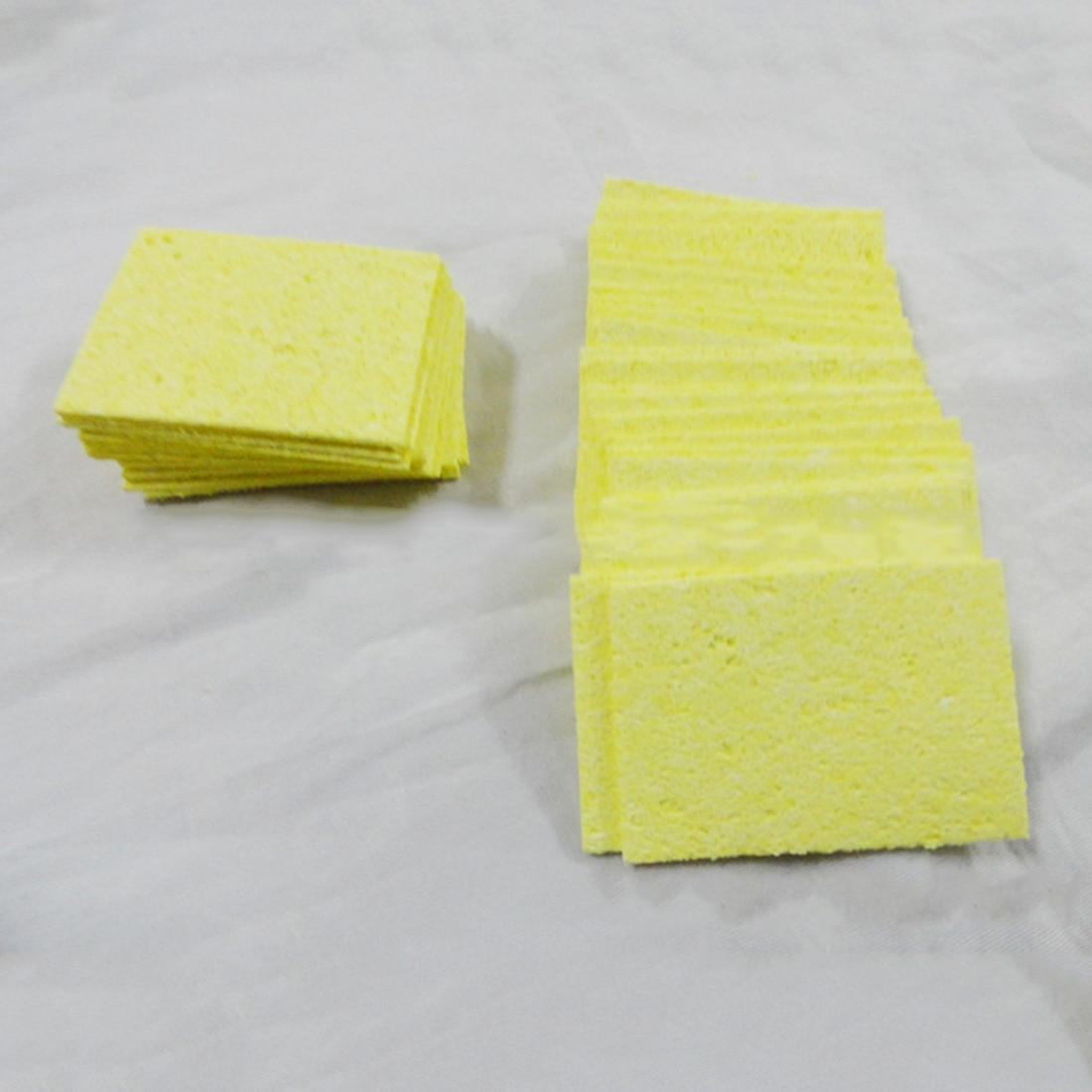 Temperature Foam Rubber Cleaning Sponge Soldering Welding Sponge Heatstable