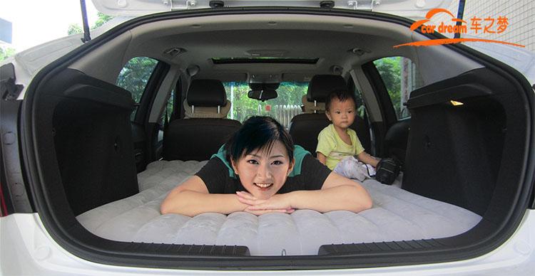 Hatchback Car Travel Bed Inflatable Air Mattress Car