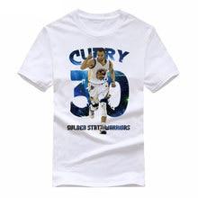 WIPU New Fashion Stephen Curry 30 T Shirt Men Short Sleeve Cotton Shirts Tops T-shirt Tee Clothing