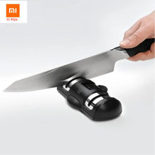 Newest Xiaomi Youpin Huohou Two-wheel Sharpener For kitchen knife Fast Sharpening Suction Cup Fixing(China)