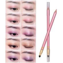 Eyeshadow Pencil Glitter Eye Shadow Pen Double Heads Air Cushion Natural Makeup MH88