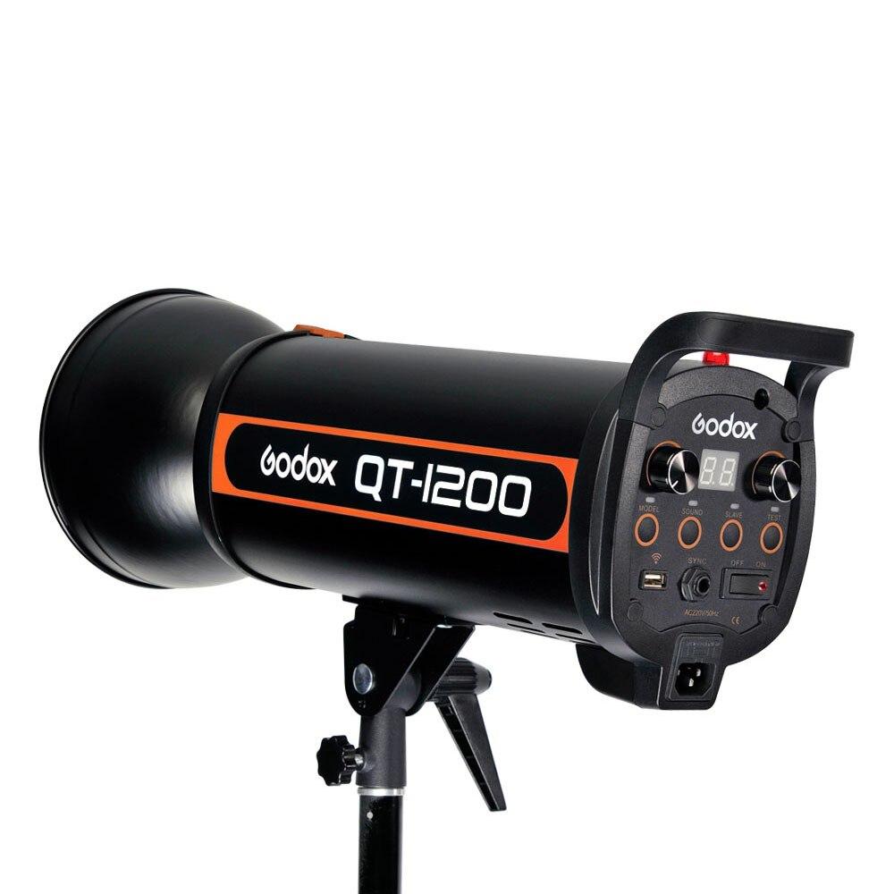 Godox QT-1200 AC100-120V/60Hz 1200W Fast Duration Flash Lighting Lamp Studio Strobe Head 1/5000s AC100-120V/60Hz