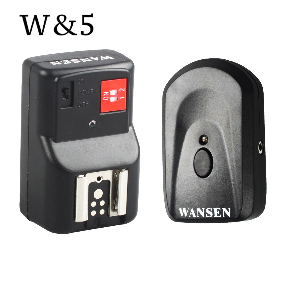 Wansen PT-04GY 4 canales inalámbrico remoto Speedlite Flash Trigger - Cámara y foto - foto 1