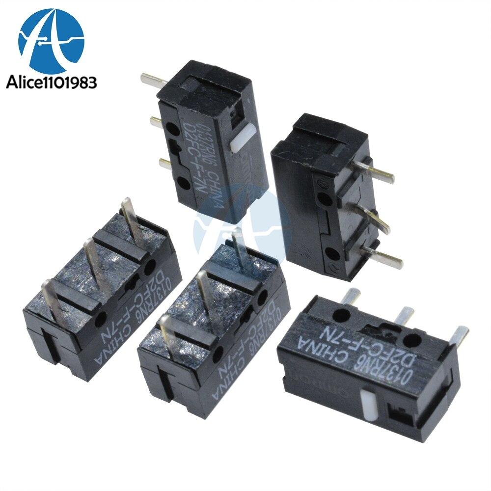 10PCS D2FC-F-7N Micro Switch Microswitch D2FC-F-7N pour souris