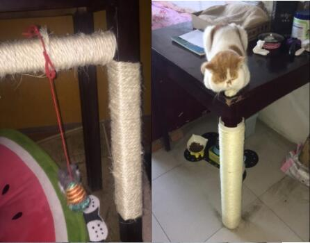 Sisal rope for cats scratching post