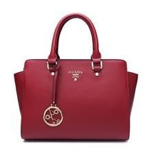 2016 Luyo European Fashion Brand Summer Handbags Genuine Split Leather Woman Single Shoulder Bags Luxury Women Designer Kors Sac