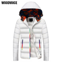 Thick Warm Men Winter Coat Fashion Jacket Men Parka High Quality Plus Size Camouflage Colorful Zipper Cotton padded Clothes Male