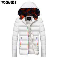 Thick Warm Men Winter Coat Fashion Jacket Men Parka High Quality Plus Size Camouflage Colorful Zipper Cotton-padded Clothes Male