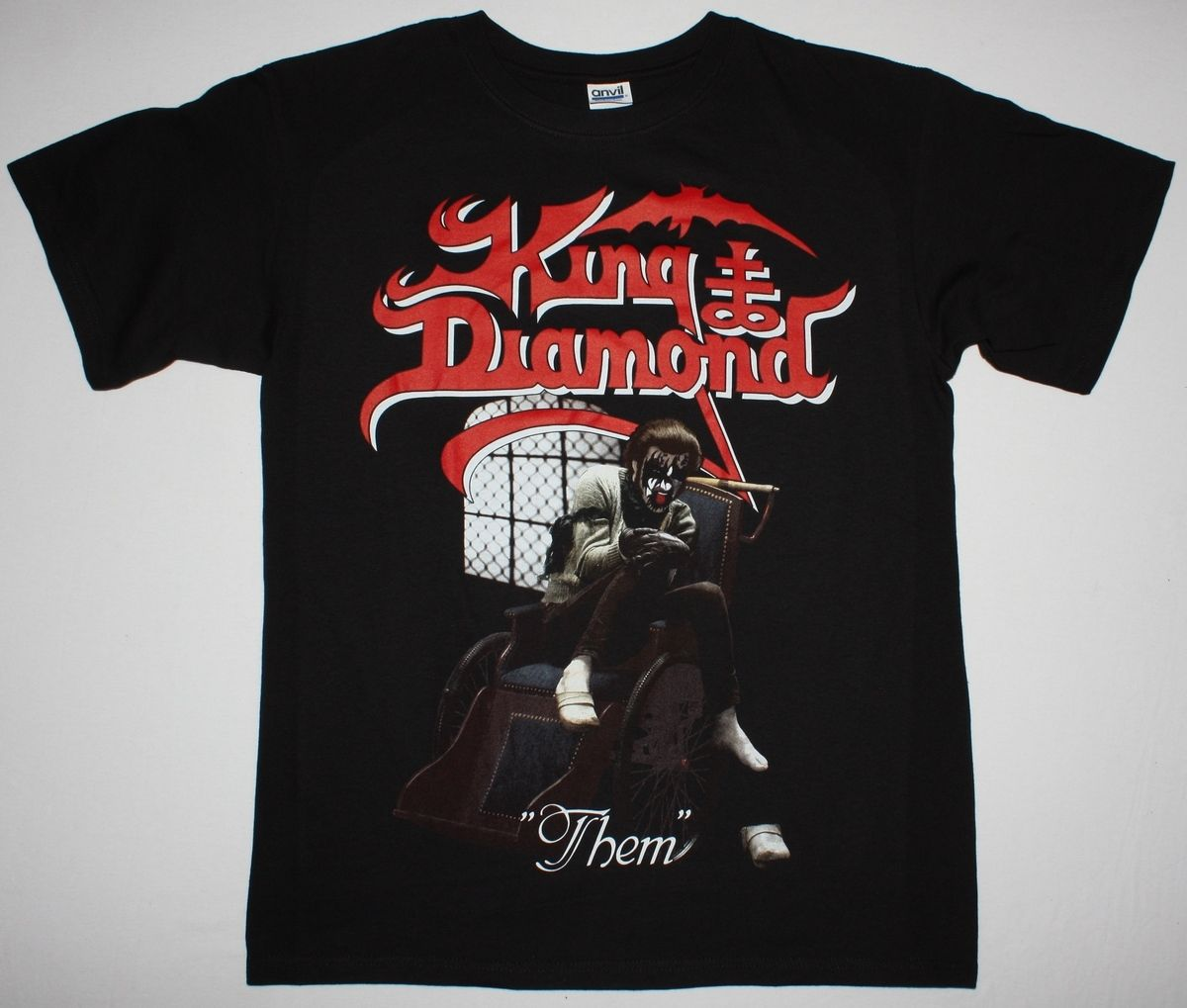 KING DIAMOND THEM MERCYFUL FATE HEAVY METAL S-XXL NEW RARE BLACK T-SHIRT