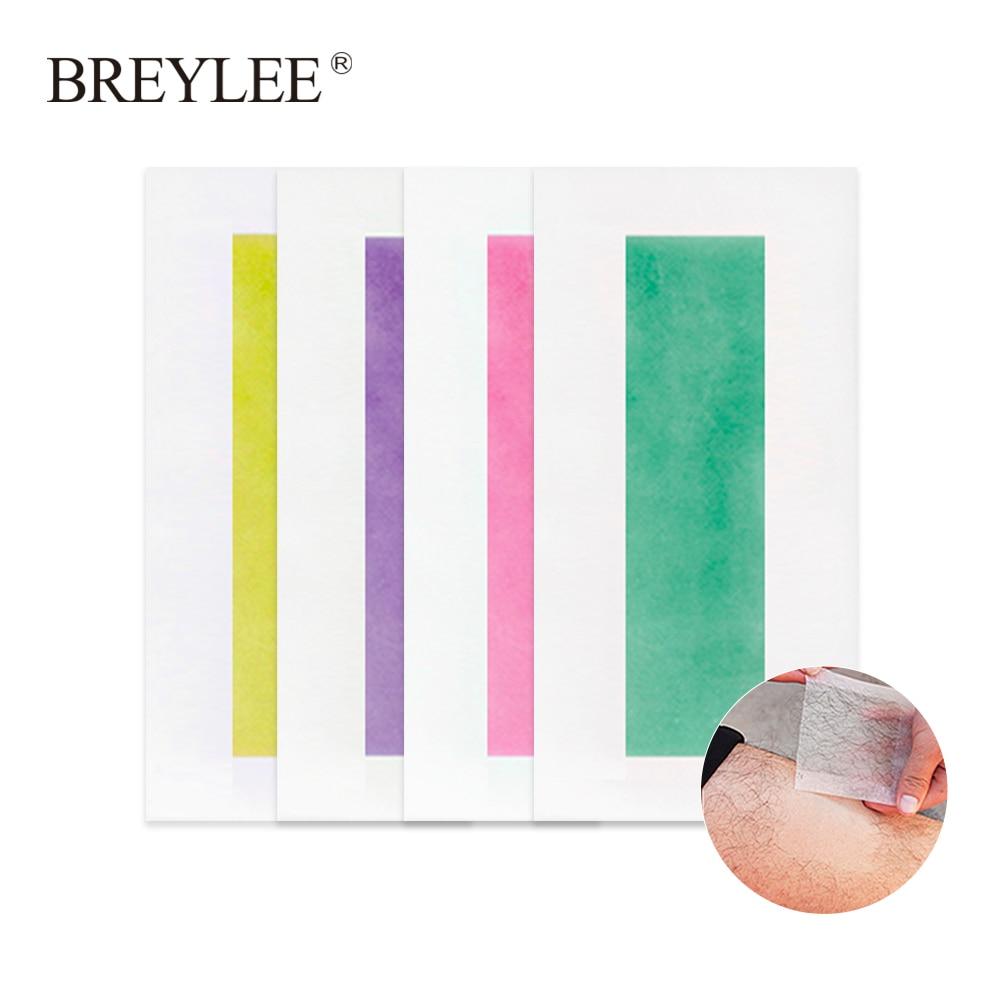 breylee hair removal wax strips