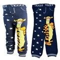 лосины детские Детские брюки. Хлопчатобумажные трикотажные брюки для мальчиков с мультяшным принтом.  Леггинсы для девочек с эластичной резинкой. Детская одежда.
