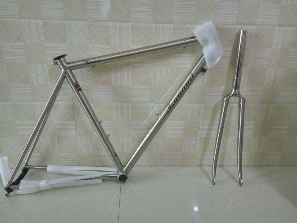 free shipping highway steelframe vintage road bike bicycle frame titanium drawing steelframe bicycle frame bike parts
