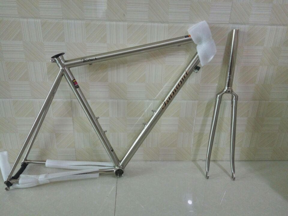 free shipping highway steelframe vintage road bike bicycle frame titanium drawing steelframe bicycle frame bike parts