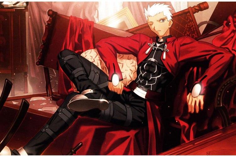 EMIYA cosplay Fate stay night cosplay costume archer red A emiya cosplay costume Uniform oufit fell set 1