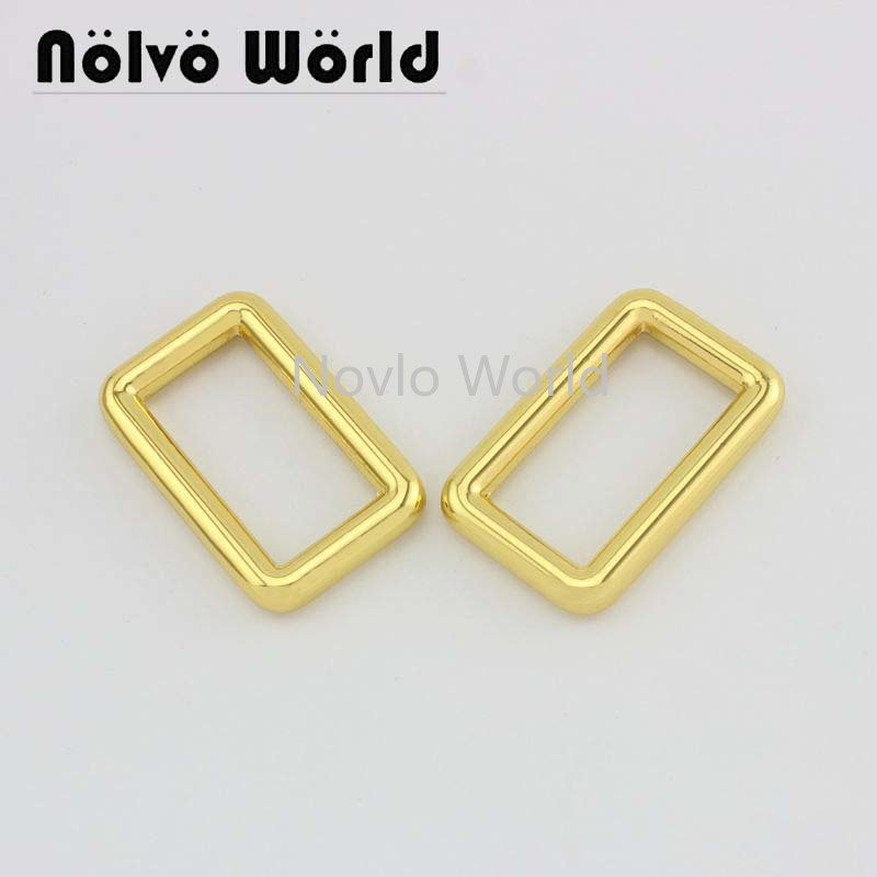 Wholesale 500pcs, 4 Colors Accept Mix Color, 31*15.6mm, Metal Buckle Handbags Buckle Belt Webbing Adjustment Hook Accessories