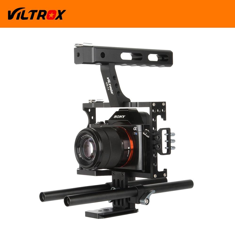 Viltrox DSLR Video Estabilizador de película Kit de 15 mm Barra de - Cámara y foto - foto 4