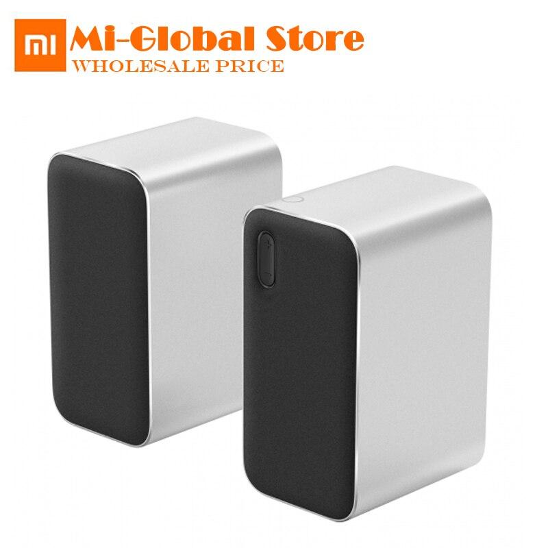 Nouveau XiaoMi Mijia Bluetooth haut-parleur d'ordinateur Bluetooth 2.0 DSP soutien appels vocaux Support téléphone tablette pc pour xiami smart home