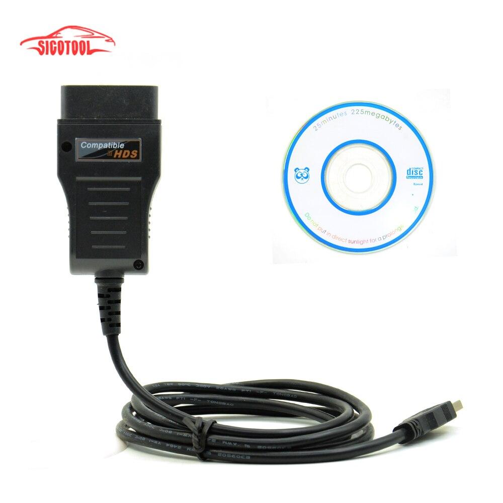Prix pour Vente chaude HDS Câble OBD2 Câble De Diagnostic pour Honda, livraison gratuite avec le meilleur prix