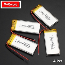 502248 3.7v 500mAh li-ion Lipo cells Lithium Li-Po Polymer Rechargeable Battery For Bluetooth speaker GPS PDA Tachograph jjrc h5c 11 replacement 500mah li polymer battery for h5c x5c silver