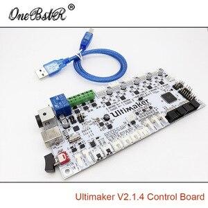 Image 2 - Generazioni della scheda di controllo Ultimaker 2 V2.1.4 scheda finita UM2 parti della stampante 3D fornitura speciale spedizione gratuita