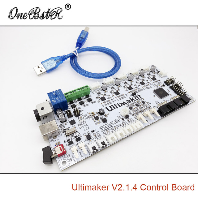 Special Supply 3D Printer Accessories Ultimaker V2.1.4 Control Board Ultimaker 2 Generations Board Finished Board Free shipping