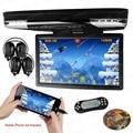 """Xtrons hdmi 15.6 """"hd 1080 p del coche del lcd de montaje en techo, tapa de reproductor de dvd monitor de juego de vídeo usb"""