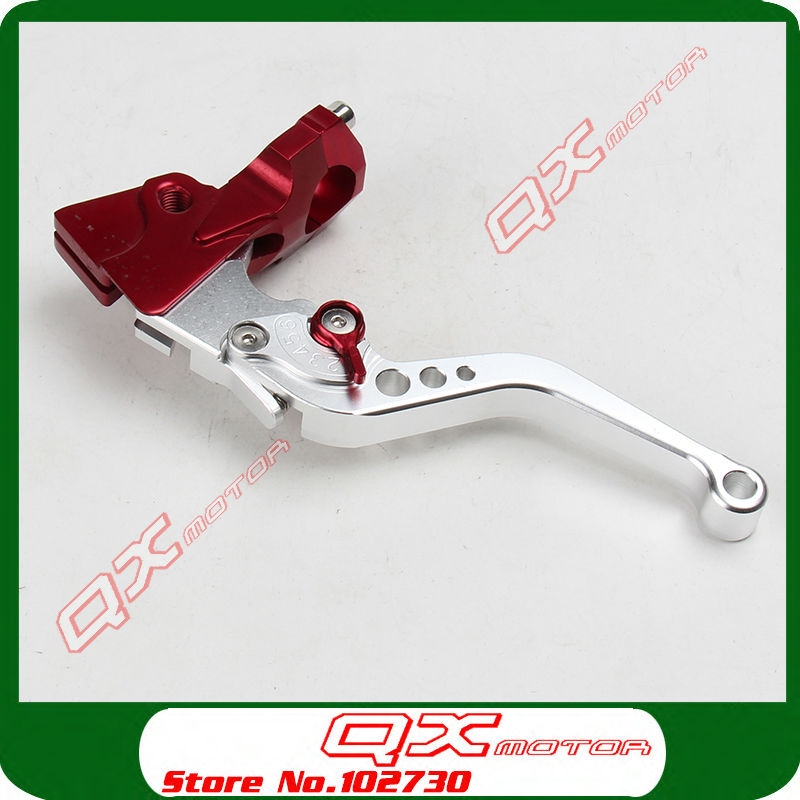 Motorcycle Clutch Levers CNC Adjustable Clutch Lever For Dirt Pit Bike Monkey ATV Quad Enduro Supermoto Off Road Street Bikes cnc gear shifter shift lever 7108 for crf250r 04 09 crf250x 04 09 crf450r 02 motorcycle motocross mx enduro dirt bike off road