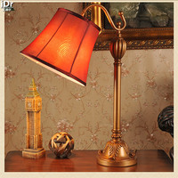 Gold Retro American Work Lamp Long Arm Bent Wrought Iron Bedroom Rural Home Decor Ideas Table