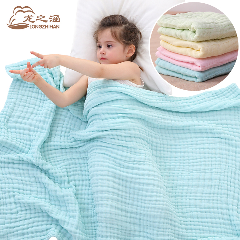 baby blanket Muslin Cotton 6 layer super soft Infant Newborn Baby Swaddling Sleeping blankets Swaddles 90*116cm Bath Towel