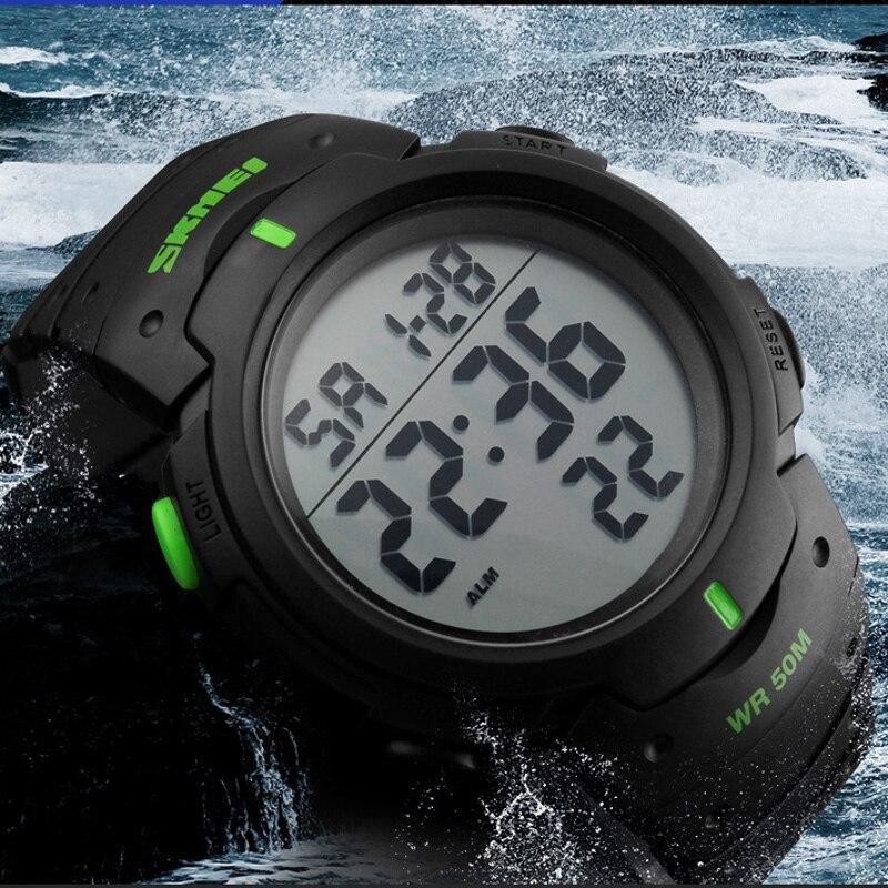 Top marque G Style choc montre numérique hommes Sport militaire montre plongée nager 50 M étanche montre-bracelet électronique horloge LED Reloj