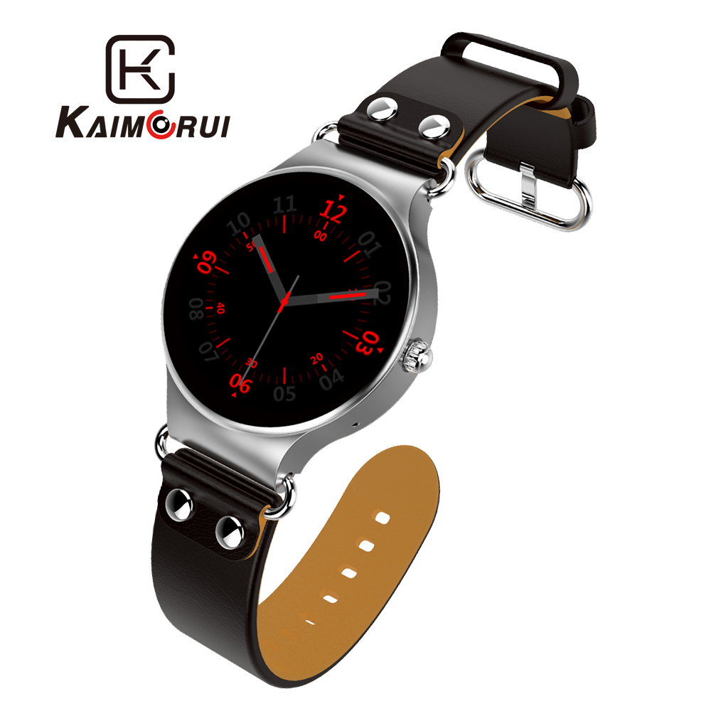 Kaimorui Smart Watch Android 5.1 Quad Core Smart WristWatch 512MB+8GB Smartwatch SIM Card GPS WiFi Call Reminder For Android IOS no 1 d5 bluetooth smart watch phone android 4 4 smartwatch waterproof heart rate mtk6572 1 3 inch gps 4g 512m wristwatch for ios
