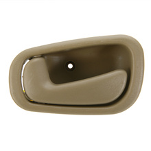 NEW Interior Inside Front Left Side Driver Door Handle For Toyota Corolla Chevrolet Prizm 1998 1999 2000 2001 2002 Tan Color