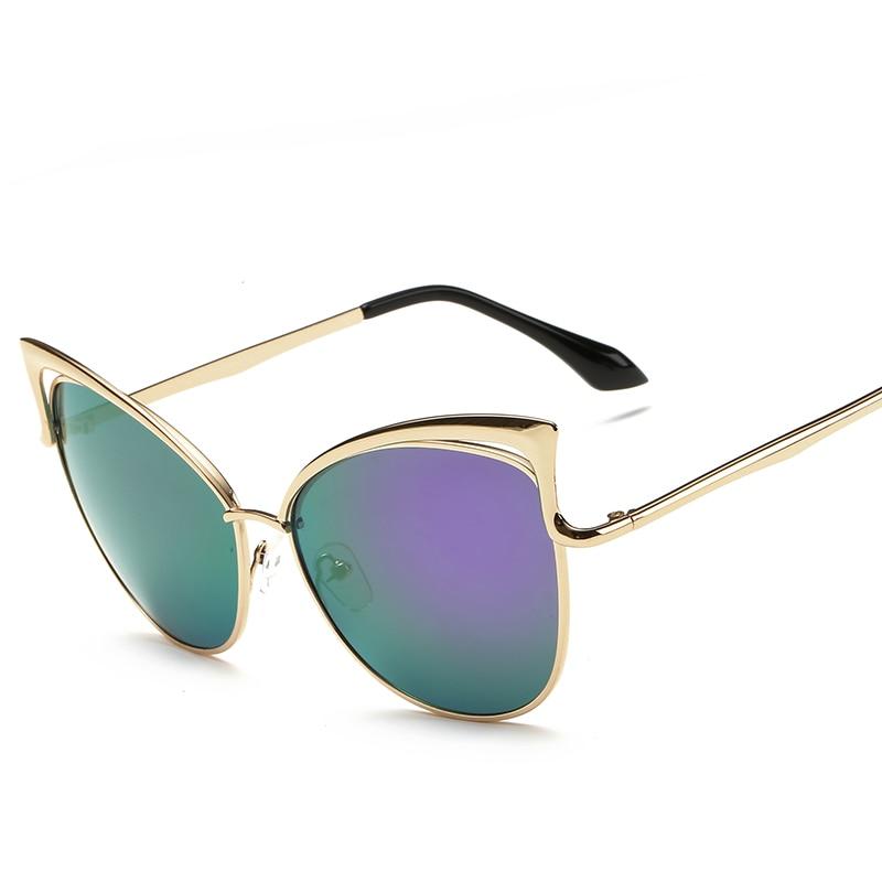 Nuevas gafas de sol con montura de metal real para mujer, gafas de - Accesorios para la ropa - foto 2
